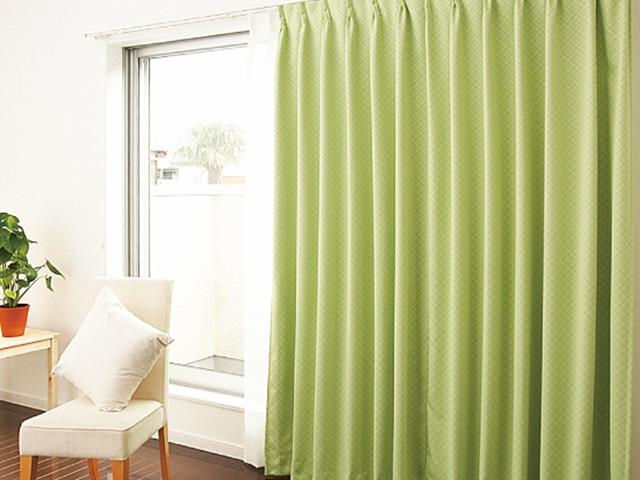 全室カーテン