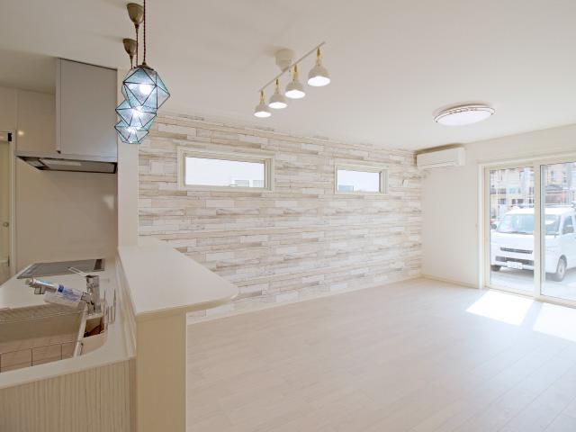 ホワイトオークでつくる可愛らしさが自慢のお家