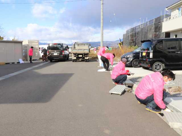 【工事完了!感謝の気持ちを込めて】須坂市米持分譲地の清掃活動を行いました